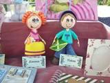 Emma e Tobia al mercatino degli hobbysti Pavone 2015